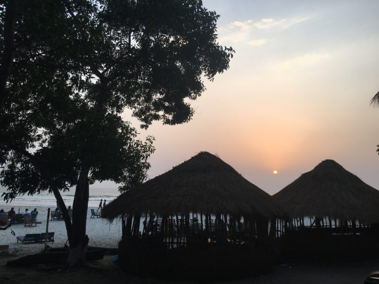 Chasing crabs at sunset – one year in Sierra Leone!